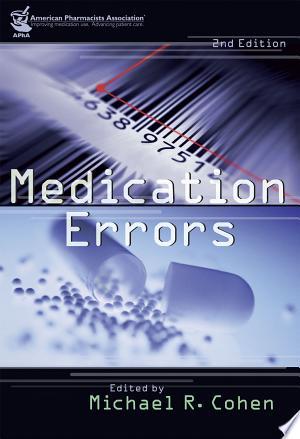 Medication Errors - ISBN:9781582120928