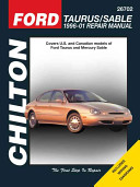 Ford Taurus Sable 1996 01 Repair Manual