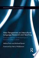 New Perspectives on Intercultural Language Research and Teaching