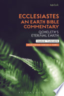 Ecclesiastes: An Earth Bible Commentary