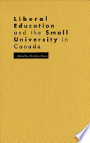 Liberal Education and the Small University in Canada