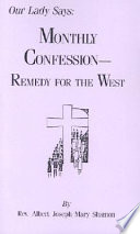 download ebook our lady says: monthly confession--remedy for the west pdf epub
