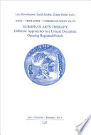 Arts - Therapies - Communication European Arts Therapy : a discipline requires establishing communication with theorists...