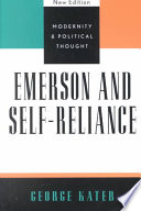 Emerson And Self Reliance