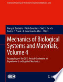Mechanics of Biological Systems and Materials  Volume 4