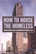 How to House the Homeless And Brendan O Flaherty Propose That The Answers