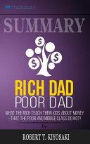 Summary - Rich Dad Poor Dad