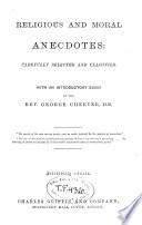 Religious and Moral Anecdotes Book PDF