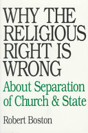 Why the Religious Right is Wrong about Separation of Church & State