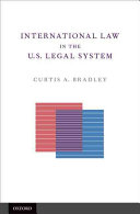 International Law in the U.S. Legal System