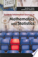 Guide To Information Sources In Mathematics And Statistics book