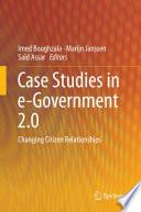 Case Studies in e Government 2 0