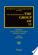 The Group of 77 at the United Nations