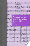 Perspectives on American Music Since 1950