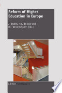 Reform of Higher Education in Europe