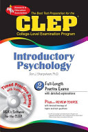 CLEP Introductory Psychology with TestWare  REA