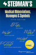 Stedman s Medical Abbreviations  Acronyms   Symbols