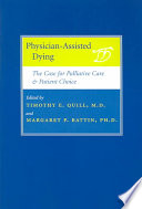 Physician Assisted Dying