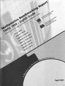 Mathematics benchmarking report