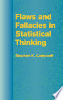 Flaws and Fallacies in Statistical Thinking Book PDF