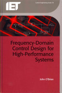 Frequency-Domain Control Design for High-Performance Systems