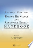 Energy Efficiency and Renewable Energy Handbook  Second Edition