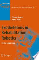 Exoskeletons in Rehabilitation Robotics