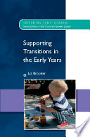 Supporting Transitions in the Early Years