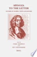 Spinoza to the Letter