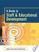 A Guide to Staff   Educational Development