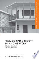 From Doxiadis' Theory to Pikionis' Work