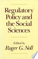 Regulatory Policy and the Social Sciences