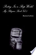 Poetry In a Rap World  My Rhyme Book Vol 3