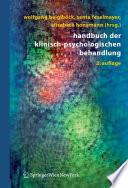 Handbuch der klinisch psychologischen Behandlung
