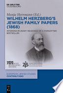 Wilhelm Herzberg S Jewish Family Papers 1868
