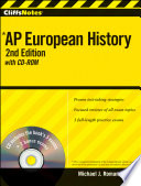 CliffsNotes AP European History with CD ROM