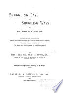 Smuggling Days and Smuggling Ways Book PDF