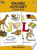 Spanish Alphabet Coloring Book