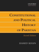 Constitutional and Political History of Pakistan