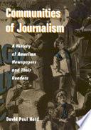 Communities Of Journalism