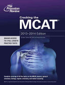 Cracking the MCAT  2013 2014 Edition