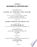 Universal Historical Dictionary