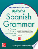 McGraw Hill Education Beginning Spanish Grammar
