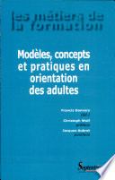 illustration du livre Modèles, concepts et pratiques en orientation des adultes