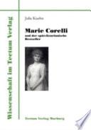 Marie Corelli und der sp  tviktorianische Bestseller