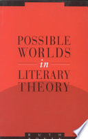 Possible Worlds in Literary Theory Theoretical Problems Of Fictionality And Narrativity