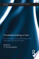 Constitution making in Asia
