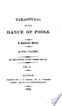 The tarantula  or  The dance of fools  by the author of the Rising sun