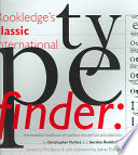 Rookledge s Classic International Typefinder