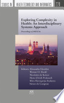 Exploring Complexity in Health: An Interdisciplinary Systems Approach